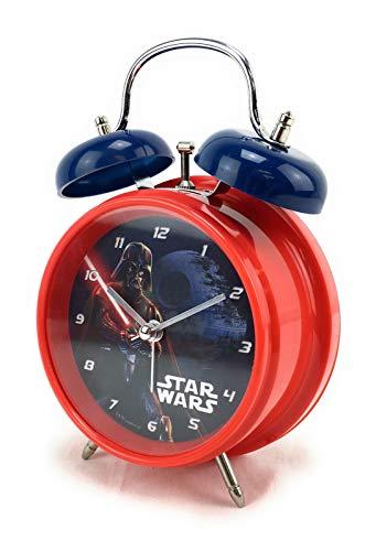 Star war Wecker mit Glocke, Starwars, rund, elektronisch, Disney - Lucasfilm