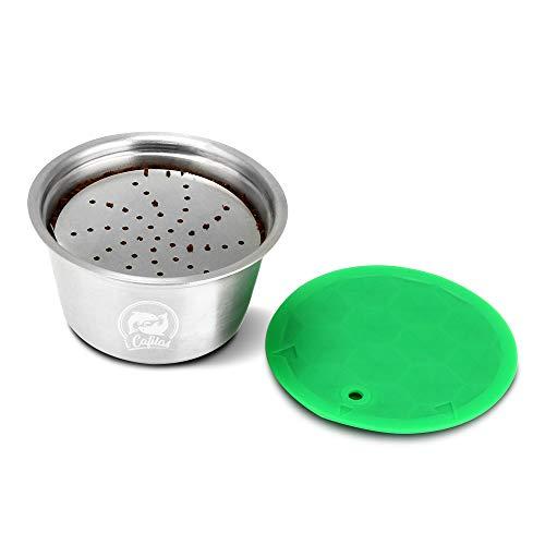 Cofemy Cápsula recargable de café, Cápsulas Recargables para Dolce Gusto, taza de filtro de café...