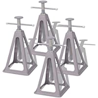 vidaXL Soportes para caravana 4 uds 285-430 mm de aluminio y acero