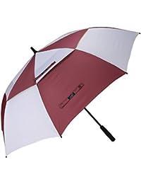 G4Free 62 Inch Automatische Öffnen Golf Schirme Extra große Übergroß Doppelt Überdachung Belüftet Winddicht Wasserdichte Stock Regenschirme