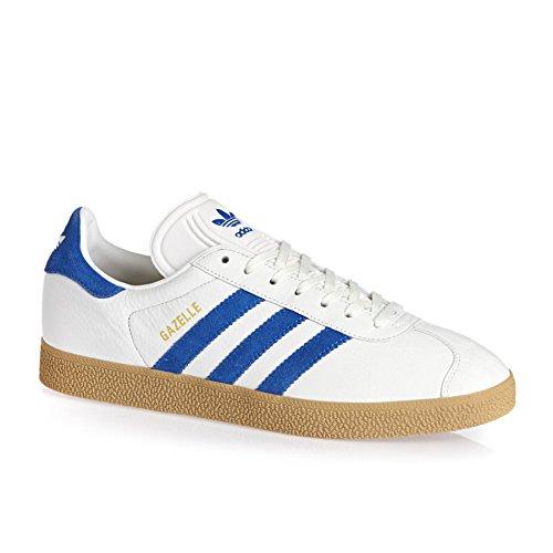 adidas Gazelle, Scarpe Running Uomo Wht/Blue
