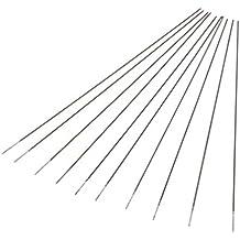 Homyl 10 Unids Electrodos de Tungsteno Puro Tig Argon Soldadura Varilla Circonio Instalación Eléctrica - Plata