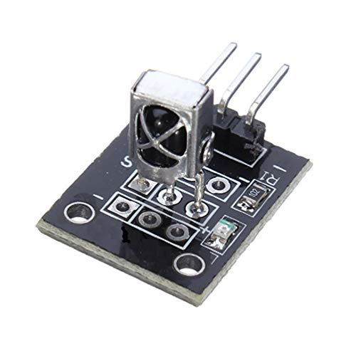 1PCS KY-022 37.9KHz Módulo de Receptor de Sensor de Infrarrojos IR para Arduino AVR PIC TW-Black