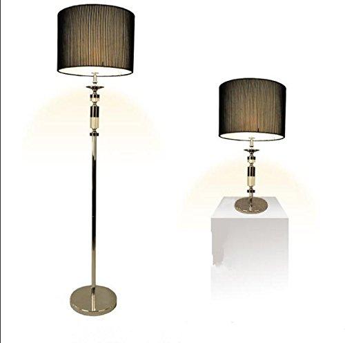 BBSLT Casa tavolo lampada moderna lampada da terra-stile creativo lampada semplice Ingegneria supporto ferro panno copertura tavolo Lampade , desk lamp