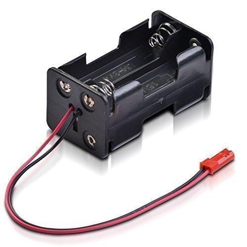 partCore Batteriebox 4 x Mignon Typ AA mit BEC Stecker für Empfänger