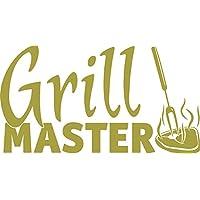 Graz Design Wandtattoo Küchen Spruch Grillmaster Steak | Aufkleber Für  Draußen Auf Grill | Top