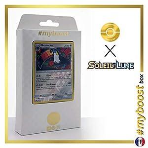 Bazoukan (Toucannon) 108/149 Holo Reverse - #myboost X Soleil & Lune 1 - Box de 10 Cartas Pokémon Francés