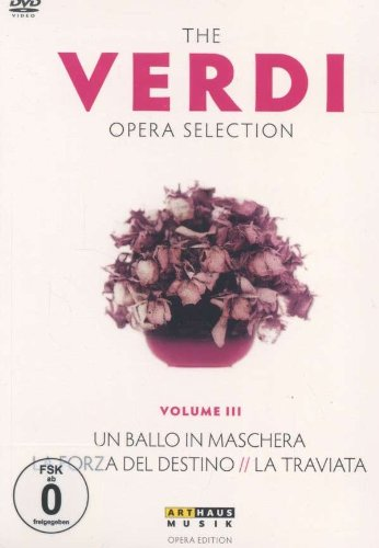 The Verdi Opera Selection Vol. III [4 DVDs]