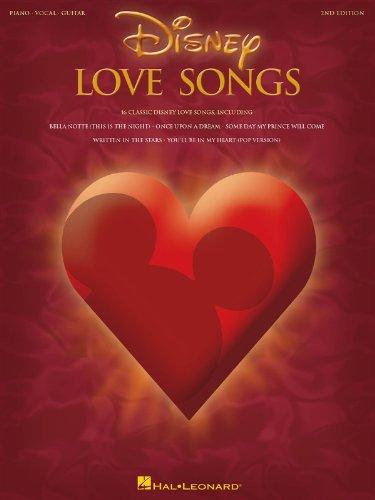 HAL LEONARD DISNEY LOVE SONGS - PVG Noten Pop, Rock, .... Filmmusik - Musicals