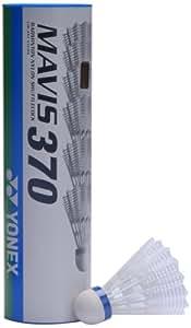 Yonex Mavis 370 Blue Cap Nylon Shuttlecock (White)