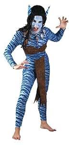 Costume adulte luxe femme bleue de la jungle Costume adulte luxe femme bleue de la jungle 86406 Avatar