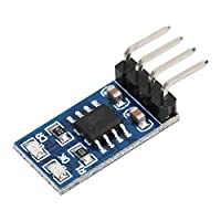 Lithium Battery Charging Board LiPo Li-ion Battery Charger 18650 Micro MPPT Solar Charging Module with Overvoltage Protection 1A 4.2V 3.7V(With Pin)