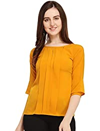 J B Fashion J B Women Printed Top with Half Sleeves for Office Wear, Casual Wear, Under 399 Top for Women/Girls Top
