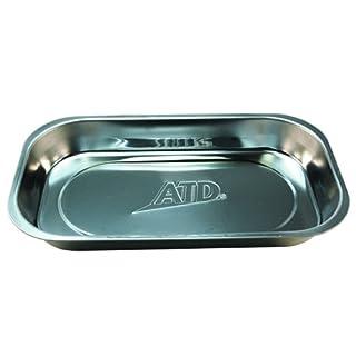 ATD Werkzeuge 8761Edelstahl Rechteck magnetisch Teile Tablett