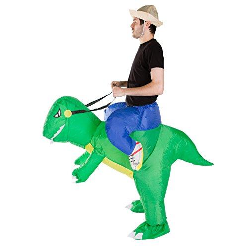 Imagen de hinchable adulto disfraz dinosaurio  alternativa