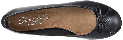 Tom Tailor 2794301, Ballerine Donna nero (nero)