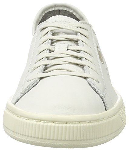 Puma Basket Classic Soft, Sneakers Basses Mixte Adulte Blanc (White-whisperwhite)