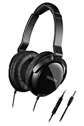 Denon AH-D310R Mobile Elite Over-Ear Headphones with 3 Button Remote and Mic