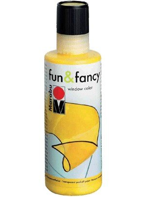 Marabu Window Color fun fancy, 80 ml, kristallklar