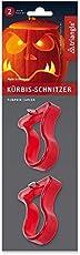 triangle® 90 176 02 10 Kürbis-Schnitz-Set, 2-teilig
