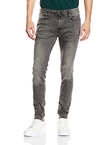 Jack & Jones Jjiliam Jjoriginal Am 010 Lid Noos, Jeans Homme Gris (Grey Denim)