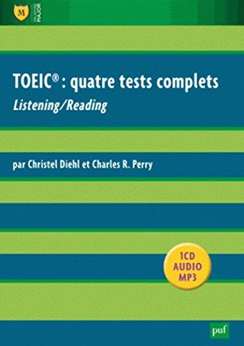TOEIC : quatre tests complets