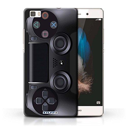 Stuff4 Hülle / Hülle für Huawei P8 Lite / Playstation PS4 Muster / Spielkonsolen Kollektion