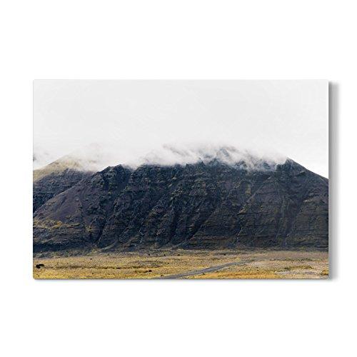 artboxONE Galerie-Print 150x100 cm Mystisches Island hochwertiges Acrylglas auf Alu-Dibond von Cornelius Bierer