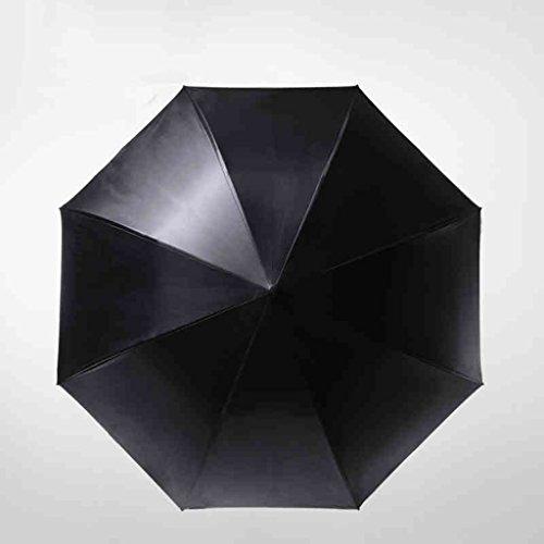 Parapluie de soleil Parapluie à manches longues Parapluie à double couche Parapluie en vinyle Parapluie de protection solaire ultra-UV Zero Light Umbrella