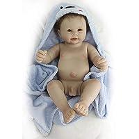 nicery reborn Baby doll.Si tratta di una perfetta bambola Art progettato da un famoso artista. carino e realistico bambola reborn Baby.È realizzato in vinile di alta qualità. Confortevole al tatto. Safe non tossici, puri ecocompatibili Materi...