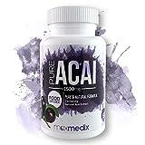 Capsule di Acai - Integratore Alimentare Con Estratto Naturale Di Acaj Liofilizzato Ricco di Antiossidanti - Aiuta la Digestione, la Circolazione e il Sistema Immunitario - 60 Capsule WeightWorld