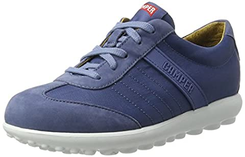 Camper Pelotas Step, Sneakers Basses Femme, Bleu (Medium Blue 037), 41 EU