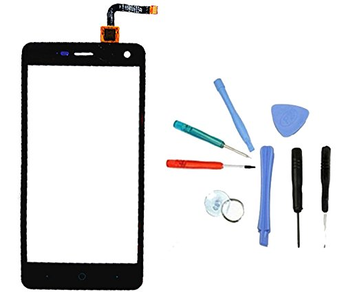 Touchscreen Display Touch Screen Front Reparatur Digitizer + WERKZEUG Für ZTE Blade L3 (Black)