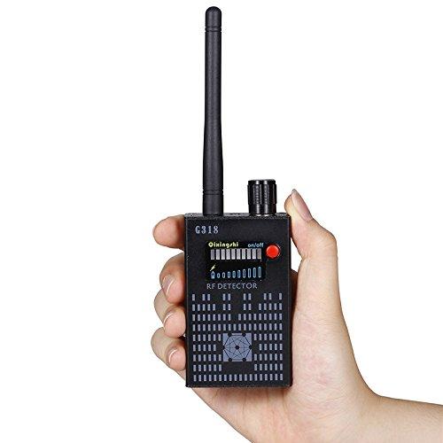 Hangang Amplification Signal Detektor Detector RF Bug Camera Wireless Bug Kamera Drahtlose Detektor Frequenz Scanner Kehrmaschine GSM CDMA GPS Tracker Finder (CS04030-1)