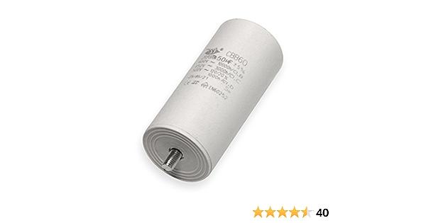 Kondensator 60 µf Uf Mit Flachstecker Anlaufkondensator Motorkondensator 450v Kondensatoren Beleuchtung