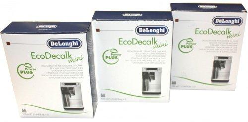 DeLonghi Entkalker EcoDecalk mini Sparpack 6x 100ml für Kaffeevollautomaten, Kaffeemaschinen - Nr.: 5513292821 Nokalk