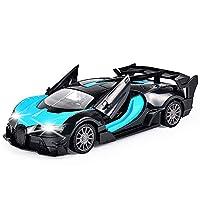 Marchio: WapipeyTipo: auto sportiva telecomandata freddaProporzione: 1:20Colore: giallo, blu, verdeMateriali: ABS, componente elettronicoSistema di guida: 4WDBatteria per auto: 3 batterie ricaricabili AABatteria del telecomando: 2 batterie AA (non in...