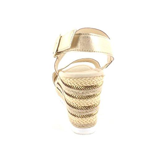 Gabor 45.790 Damen Sandalen Metallic