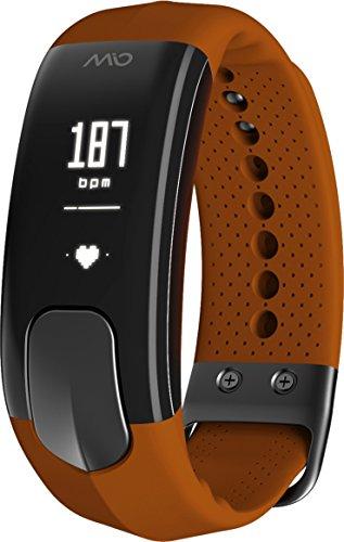 Mio Slice Fitness Watch, Sleep and Activity Monitor, Sienna, L (Mio Herzfrequenz-monitor-uhr)