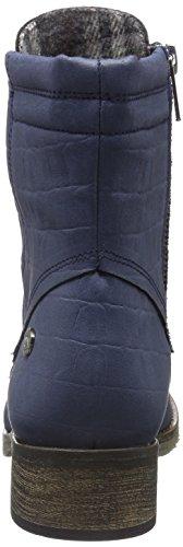 Jonny´s Vegan Damen Dagrun Combat Boots, Blau (Marino 1), 42 EU - 2