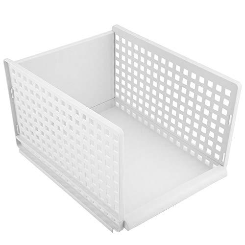 AUNMAS Cajón Plegable Caja Almacenamiento Bastidores