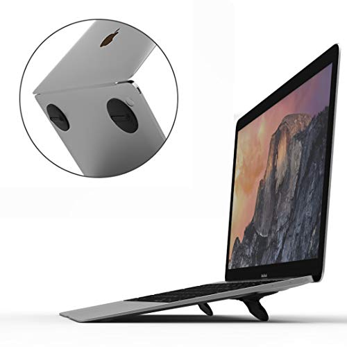 CQTECH Laptop-Ständer - Unsichtbar Leicht Tragbarer Notebook-ständer Faltbarer Universa Kühlung Laptop Halterung Riser für Mac MacBook Air Pro, HP, Samsung, Dell bis 17Zoll