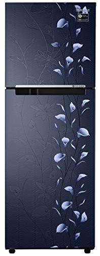 Samsung 253L 2 Star Frost Free Double Door Refrigerator (RT28M3022UZ/HL, Blue, Inverter Compressor)