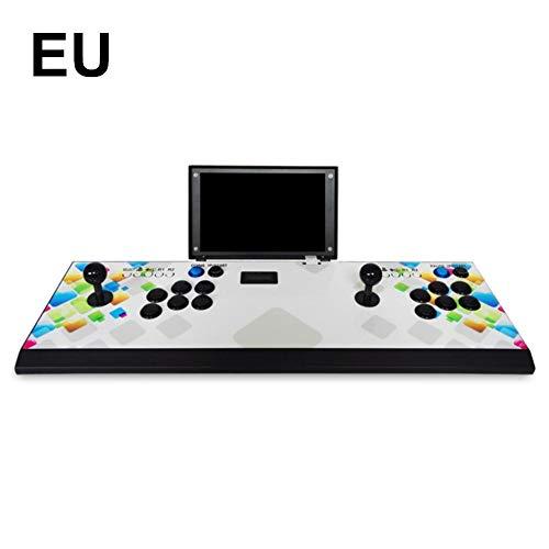 liuxi Arcade-Spielekonsole 1080P 3D- & 2D-Spiele 2200 Büchse der Pandora 2 Spieler, die eine Arcade-Maschine mit Einem 10-Zoll-Bildschirm Aufladen (Buchsen Der Spiel)
