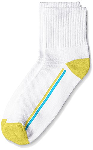 Lakomfort Men's Socks (LK-11005_White and Yellow)  available at amazon for Rs.76