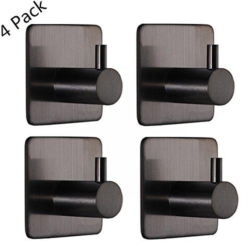 4 Pack Self Adhesive Hooks, 304 ...