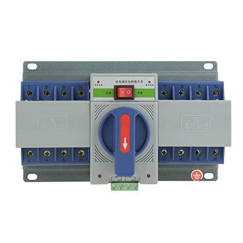Übertragungsschalter, Mini-Leistungsschalter mit zwei Leistungsstufen für automatische Übertragung Einfache Installation Zuverlässige Leistung Vollständige Schutzfunktion
