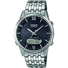 Casio Wave Ceptor Reloj de pulsera hombre analógico digital cuarzo acero inoxidable LCW de m180d de 1AER