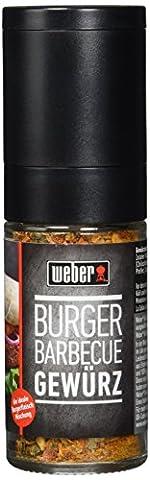 Weber GWM Burger Barbecue Gewürz, 58 g (Burger Bar)