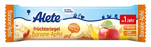 Alete Früchteriegel Banane-Apfel, 18er Pack (18 x 25 g)